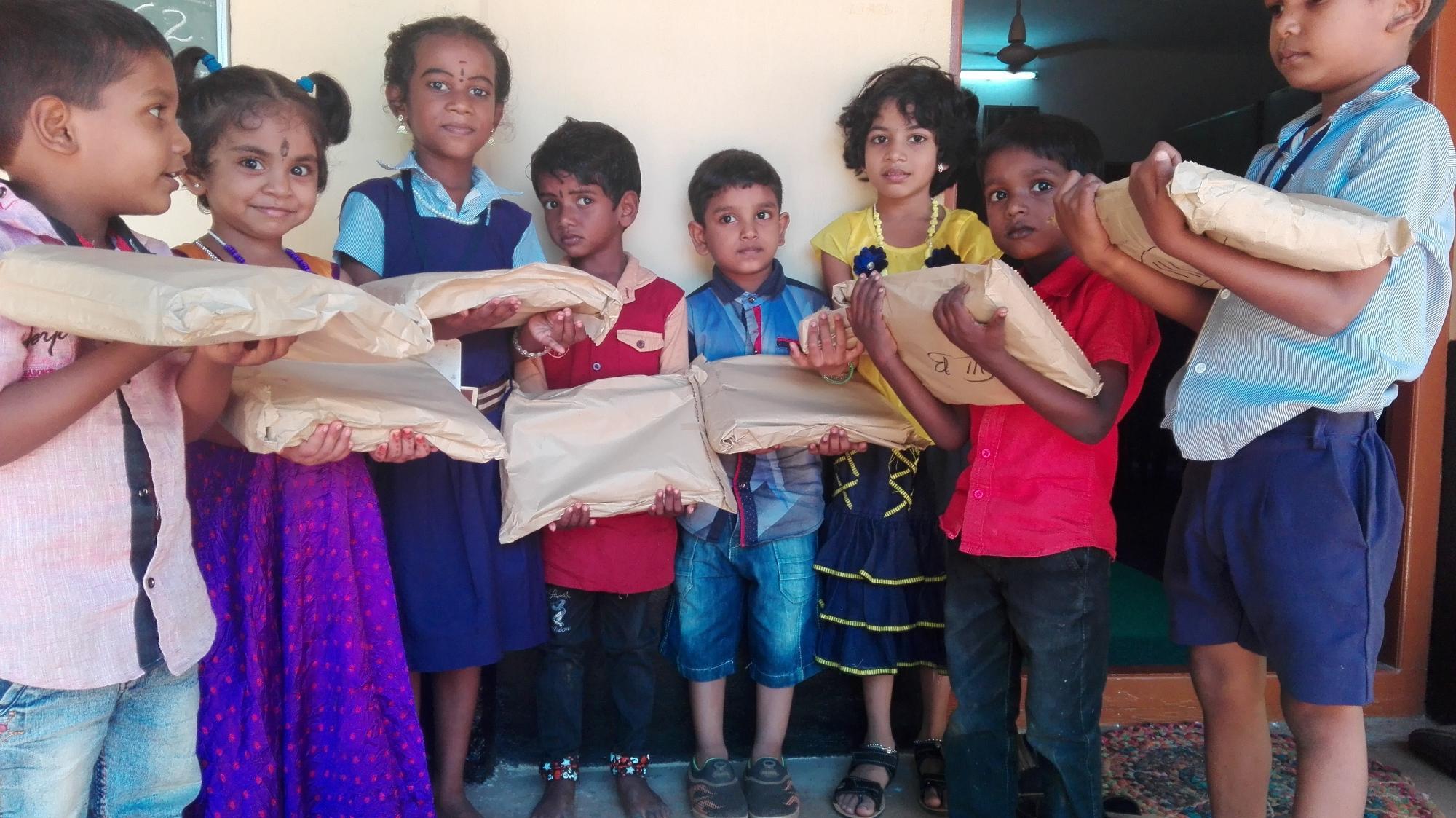Podpora vzdelania detí v Indii