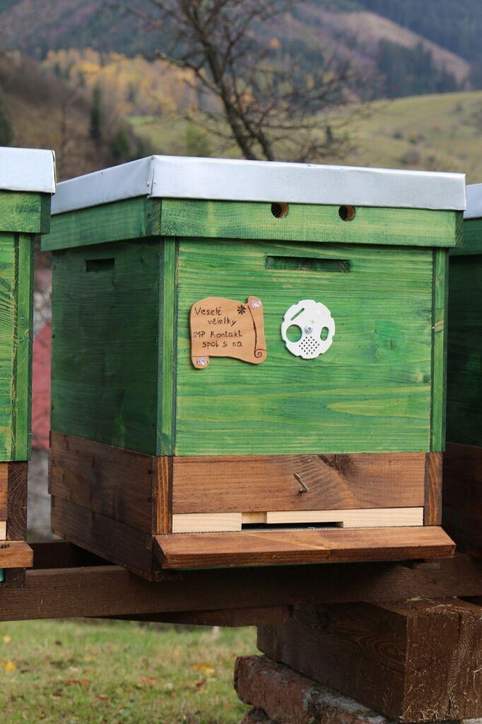 Adopce včelího úlu z Liptova