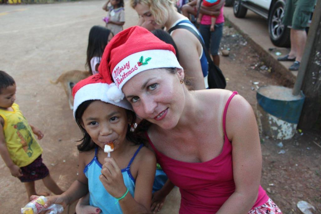 Charitativní projekt na Filipínách