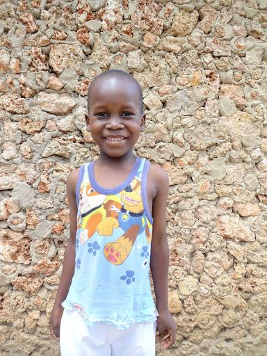 Podpora detí z Kene, mesto Mtwapa: Tyron, Munga, Mody, Judis a Brighton