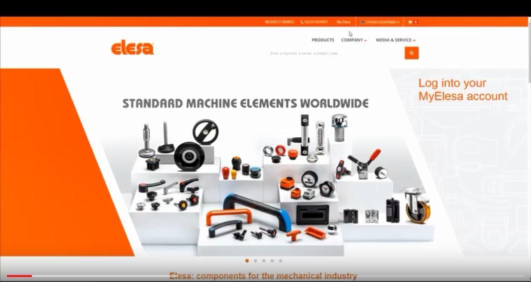 Návod na stiahnutie 2D/3D modelov súčiastok Elesa+Ganter