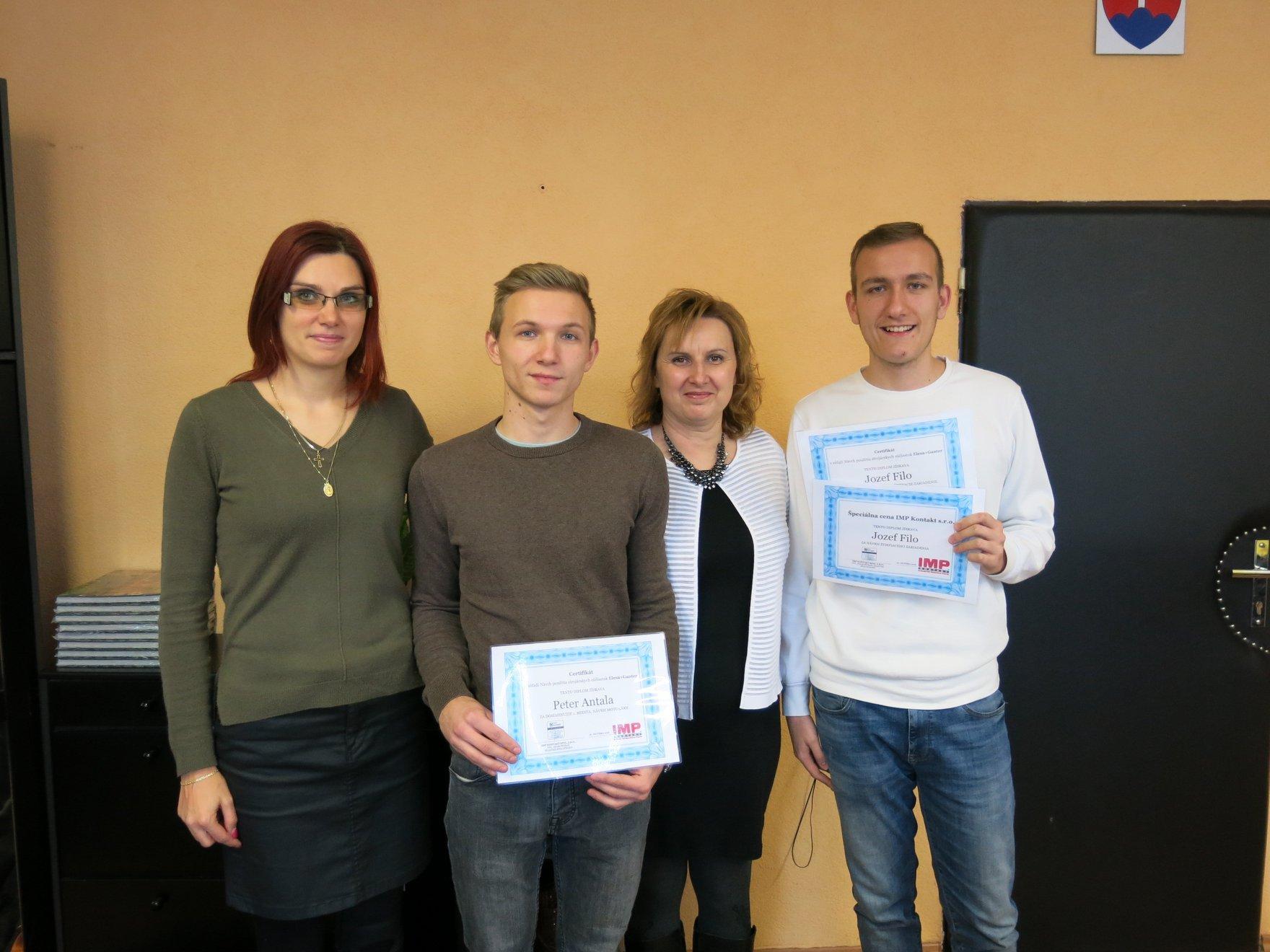 Vyhodnotenie súťaže, Stredná odborná škola strojnícka, Bánovce nad Bebravou